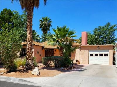 Las Vegas Single Family Home For Sale: 1250 8th Place