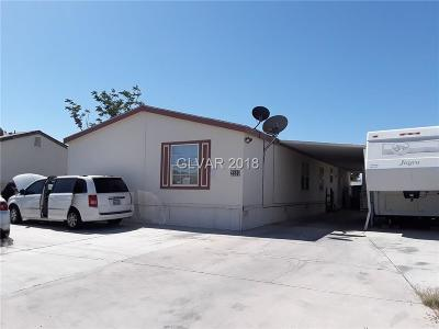 Las Vegas Manufactured Home For Sale: 3589 Gowan Road