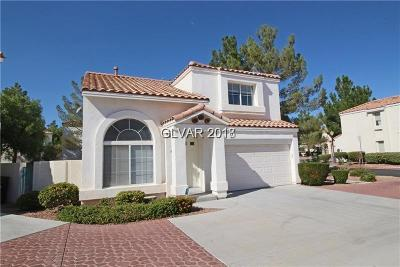Las Vegas Single Family Home For Sale: 8873 Hampton Green Avenue