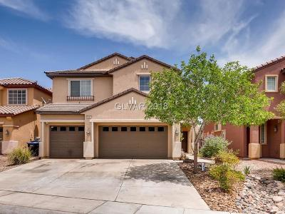 North Las Vegas Single Family Home For Sale: 5032 Teal Petals Street