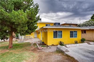 Henderson, Las Vegas Multi Family Home For Sale: 390 13th Street