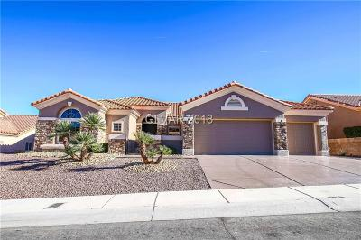 Las Vegas Single Family Home For Sale: 2912 Faiss Drive