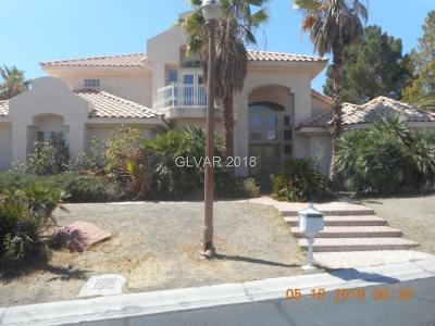 Las Vegas Single Family Home For Sale: 8125 Sapphire Bay Circle