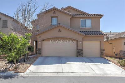 North Las Vegas Single Family Home For Sale: 6058 Darnley Street