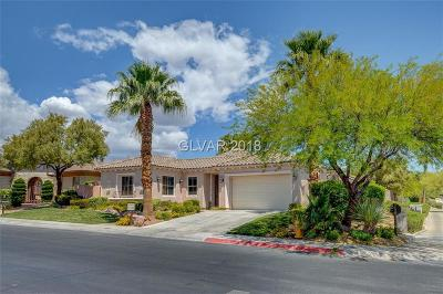 Las Vegas Single Family Home For Sale: 11224 Golden Chestnut Place