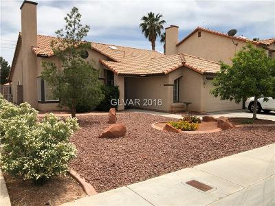 North Las Vegas Single Family Home For Sale: 4520 Strato Jet Way Way