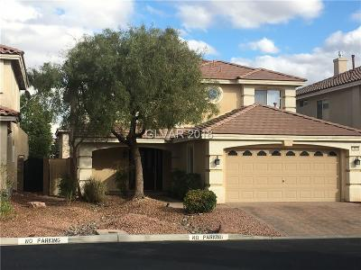 Las Vegas Single Family Home Contingent Offer: 10870 Calcedonian Street