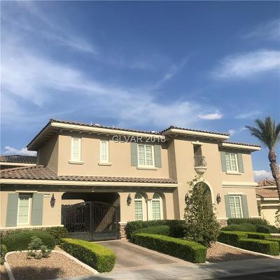Las Vegas Single Family Home For Sale: 2146 Orchard Mist Street