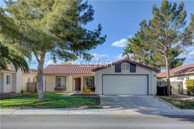 North Las Vegas Single Family Home For Sale: 4618 Erica Drive