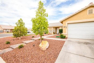 NORTH LAS VEGAS Single Family Home Contingent Offer: 5154 Comida Lane