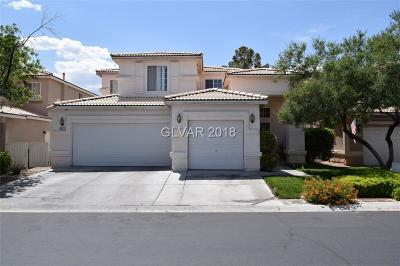 Las Vegas Single Family Home For Sale: 5521 Big Sky Lane