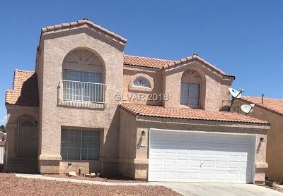 Las Vegas Single Family Home For Sale: 7336 Queen Palm Drive