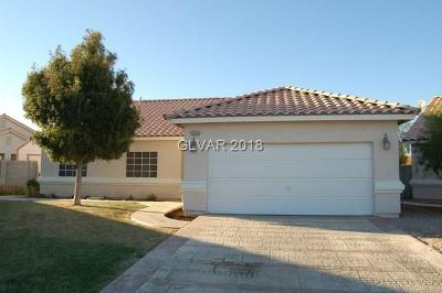 North Las Vegas NV Single Family Home For Sale: $249,000
