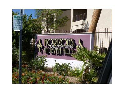 Henderson Rental For Rent: 950 Seven Hills Drive #111