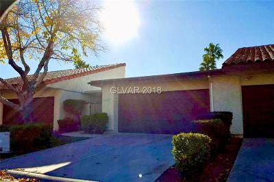Las Vegas NV Condo/Townhouse For Sale: $185,000