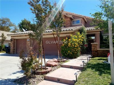 Las Vegas, North Las Vegas, Henderson Single Family Home For Sale: 268 El Camino Verde Street