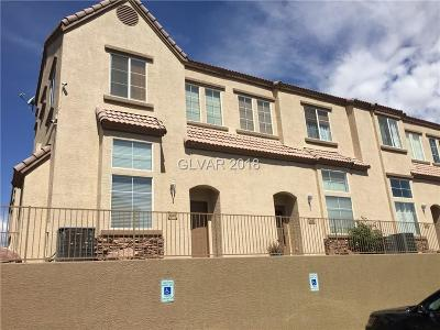 Las Vegas Condo/Townhouse For Sale: 1420 Sindelar Court