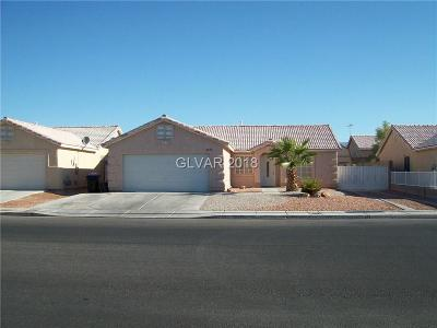 Las Vegas Single Family Home Contingent Offer: 4026 Red Coach Avenue