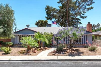 Las Vegas Single Family Home For Sale: 1824 Bracken Avenue