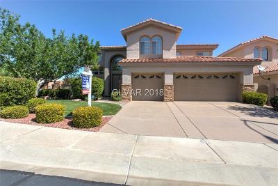 Henderson NV Single Family Home For Sale: $539,000