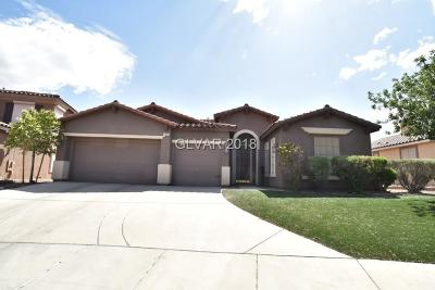 Henderson Single Family Home For Sale: 106 Mango Court