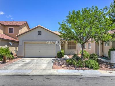 North Las Vegas Single Family Home For Sale: 5740 Indian Springs Street