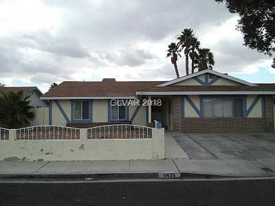 Las Vegas Rental For Rent: 6439 Lori Court