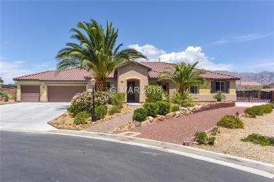 Las Vegas Single Family Home For Sale: 5884 Taylor Valley Avenue
