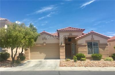 Las Vegas Single Family Home For Sale: 260 Tayman Park Avenue