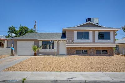 LAS VEGAS Single Family Home For Sale: 5712 Eugene Avenue