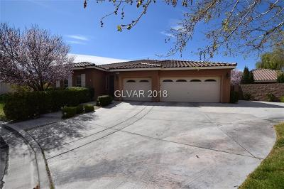 Las Vegas Single Family Home For Sale: 4471 Villa Toscano Court