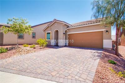 North Las Vegas Single Family Home Under Contract - No Show: 5752 Clear Haven Lane