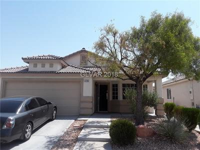 NORTH LAS VEGAS Single Family Home For Sale: 3736 Singing Lark Court