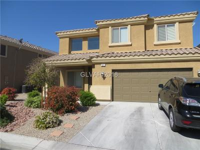 Las Vegas Single Family Home For Sale: 601 Over Par Court
