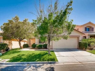 Las Vegas Single Family Home For Sale: 10609 Olivebranch Avenue