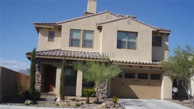 Henderson Single Family Home For Sale: 1312 Olivia Pw Parkway