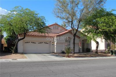 Las Vegas Single Family Home For Sale: 8016 Painted Clay Avenue