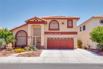 Las Vegas Single Family Home For Sale: 3412 Prairie Meadow Street