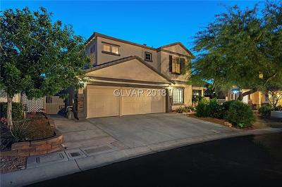 Las Vegas Single Family Home For Sale: 7840 Red Leaf Drive