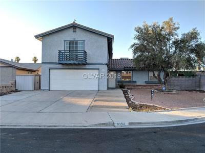 Las Vegas Single Family Home For Sale: 6152 Candlewood Court