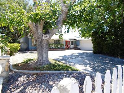 Las Vegas Single Family Home For Sale: 2817 Colanthe Avenue
