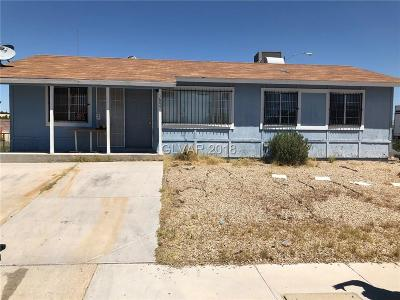 North Las Vegas Single Family Home For Sale: 1604 June Avenue