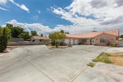 Las Vegas Single Family Home For Sale: 3325 North Jones Boulevard