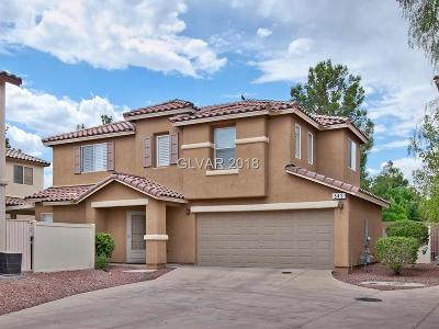 HENDERSON Single Family Home Contingent Offer: 543 Albacate Street