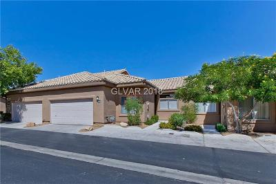 North Las Vegas Condo/Townhouse For Sale: 4774 Wild Draw Drive