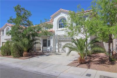 Las Vegas Single Family Home For Sale: 3729 Ocean Waters Street