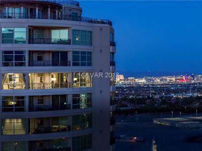 Las Vegas High Rise For Sale: 9101 Alta Drive #1401
