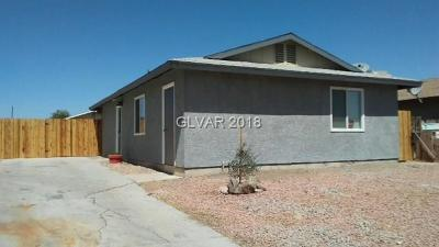 Las Vegas Single Family Home For Sale: 5045 Haystack Drive