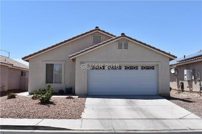 North Las Vegas Single Family Home For Sale: 5519 La Pelusa Street