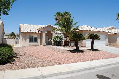 NORTH LAS VEGAS Single Family Home For Sale: 3420 Helmsley Avenue